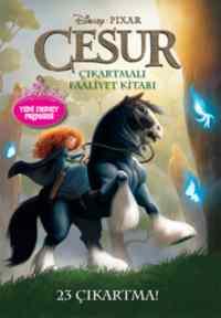 Disney Pixar Cesur Çıkartmalı Faaliyet Kitabı