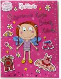 Kek Perisi Karamela Çıkartmalaı Kağıt Bebek Kitabı