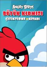 Angry Birds Büyük Kırmızı Çiziktirme Kitabı