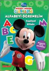 Mickey Mouse Clubhouse Alfabeyi Öğrenelim