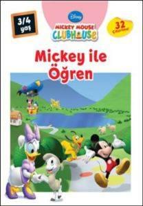 Mickey İle Öğren 3-4 Yaş