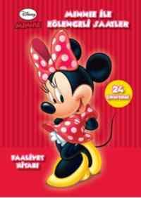 Minnie İle Eğlenceli Saatler Faaliyet Kitabı