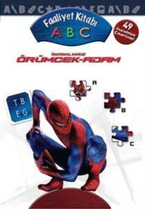 İnanılmaz Örümcek Adam 1-2-3 Faaliyet Kitabı