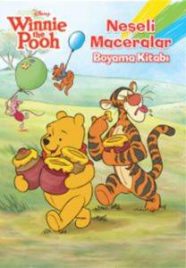 Winnie The Pooh Neşeli Maceralar Boyama Kitabı
