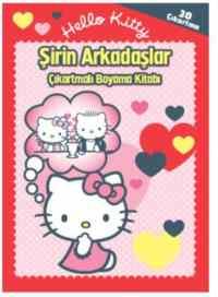 Hello Kitty Şirin Arkadaşlar Çıkartmalı Boyama Kitabı
