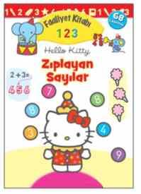 Hello Kitty 1-2-3 Zıplayan Sayılar Faaliyet Kitabı