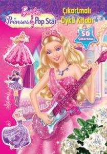Barbie Prenses Pop Star Çıkartmalı Öykü Kitabı