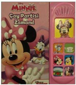 Disney Minnie Çay Partisi Zaman