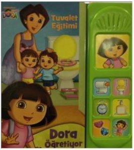 Kaşif Dora Tuvalet Eğitimi