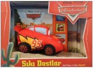Disney Arabalar Sıkı Dostlar-Sesli Kitap Ve Pelüş Şimşek