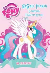 My Little Pony Neşeli Piknik Çıkartmalı Faaliyet Kitabı