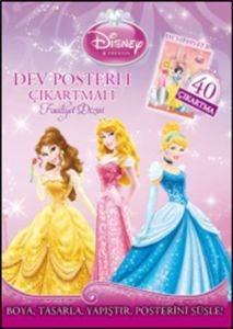 Dev Posterli Çıkartmalı Faaliyet Dizisi Prenses