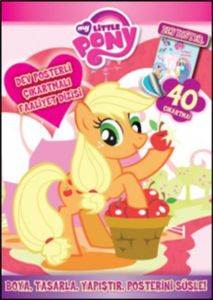 Dev Posterli Çıkartmalı Faaliyet Dizisi My Little Pony