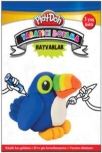 Play Doh Yaratıcı Boyama Hayvanlar