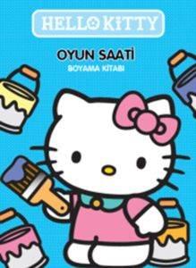 Hello Kitty- Oyun Saati Boyama Kitabı