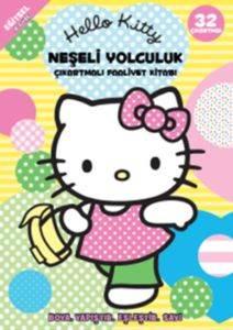 Hello Kitty - Neşeli Yolculuk Çıkartmalı Faaliyet Kitabı