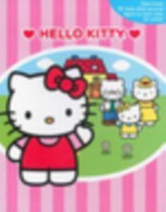 Hello Kitty Eğlenceli Evim Oyuncaklı Kitap Kutusu