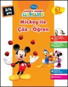 Mickey İle Çöz Öğren 3-4 Yaş