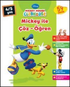 Mickey İle Çöz Öğren 4-5 Yaş
