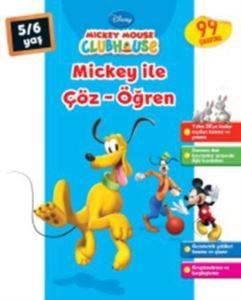 Mickey İle Çöz Öğren 5-6 Yaş