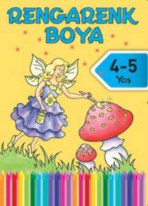 Rengarenk Boya 4-5 Yaş Sarı