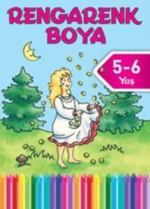 Rengarenk Boya 5-6 Yaş Mavi