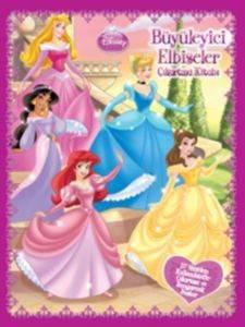 Disney Prenses - Büyüleyici Elbiseler Çıkartma Kitabı