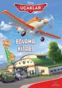 Uçaklar Boyama Kitabı