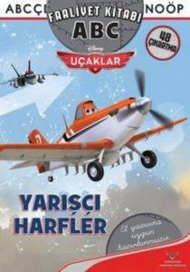 Uçaklar Yarışçı Harfler -Abc Faaliyet Kitabı