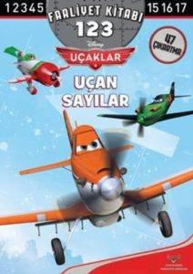 Uçaklar Uçan Sayılar 1-2-3 Faaliyet Kitabı