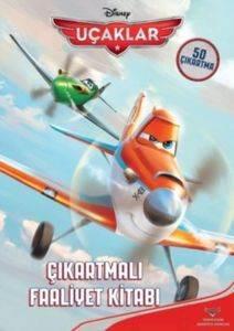Uçaklar Çıkartmalı Faaliyet Kitabı