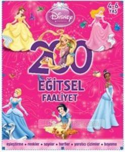 Disney Prenses - 200 Eğitsel Faaliyet