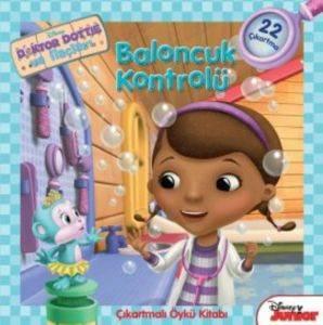 Doktor Dottie Baloncuk Kontrolü Öykü Kitabı