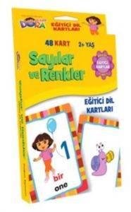 Dora Sayılar ve Renkler Eğitici Dil Kartları