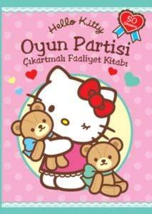Hello Kitty Oyun Partisi Çıkartmalı Faaliyet Kitabı