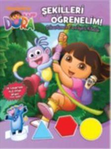 Dora Şekilleri Öğrenelim Çıkartmalı Faaliyet Kitabı