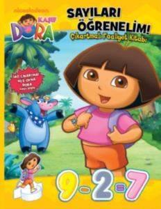 Dora Sayıları Öğrenelim Çıkartmalı Faaliyet Kitabı