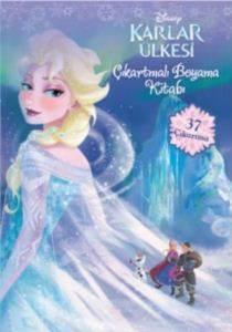 Disney Karlar Ülkesi Çıkartmalı Boyama Kitabı