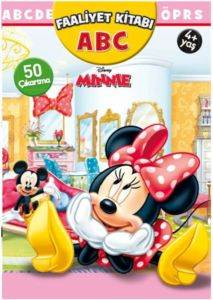 Disney Minnie ABC Çıkartmalı Faliyet Kitabı