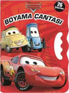 Arabalar Boyama Çantası