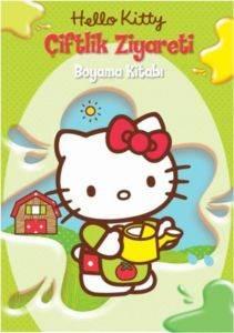 Hello Kitty - Çiftlik Ziyareti Boyama Kitabı