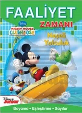 Faaliyet Zamanı Mickey Mouse Club Huse - Neşeli Yolculuk