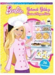 Barbie Yetenek Yıldızı Çıkartmalı Boyama Kitabı