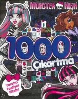 Monster High 1000 Çıkartma Yaratıcı Faaliyet Kitabı