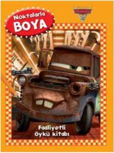Disney Noktalarla Boya Arabalar Faaliyetli Öykü Kitabı