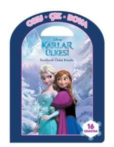 Disney Oku Çiz Boya Karlar Ülkesi Faaliyetli Öykü Kitabı