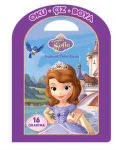 Disney Oku Çiz Boya Prenses Sofia Faaliyetli Öykü Kitabı