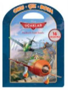 Disney Oku Çiz Boya Uçaklar Faaliyetli Öykü Kitabı