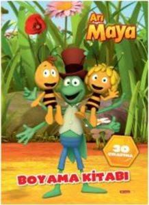 Arı Maya Boyama Kitabı