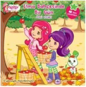 Çilek Kız Elma Bahçesinde